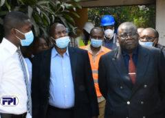 Visite d'inspection et d'évaluation du Du DG a.i du FPI  Kalenga Jean Claude